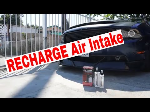 How to Clean your Air Filter (Spectre) |2010 Mustang GT|