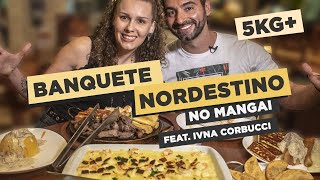 Huge feast at Mangai! 11+ pounds!! Feat. Ivna Corbucci