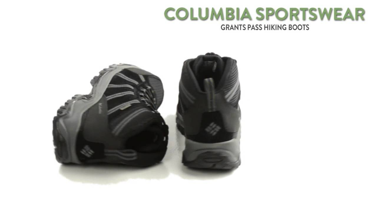 Columbia Grants Pass ... Waterproof Men's Hiking Boots 7xnF0D7Lsw