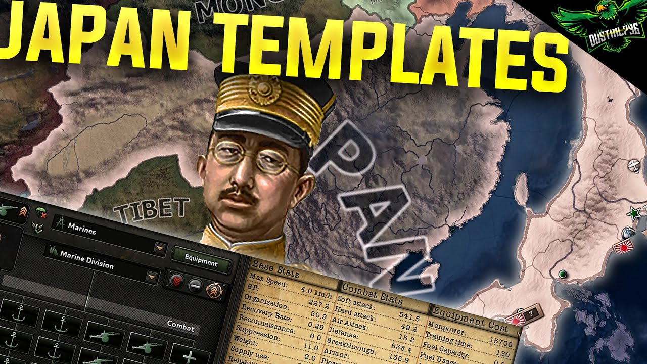 HOI4 Japan Template Guide (Hearts of iron 4 Japan templates