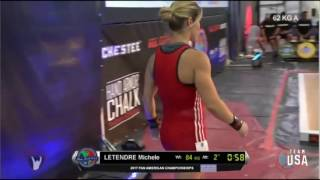 2017 Pan Am Weightlifting 58 kg A Group