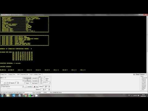 8CH RTC Temperature Logger Commands