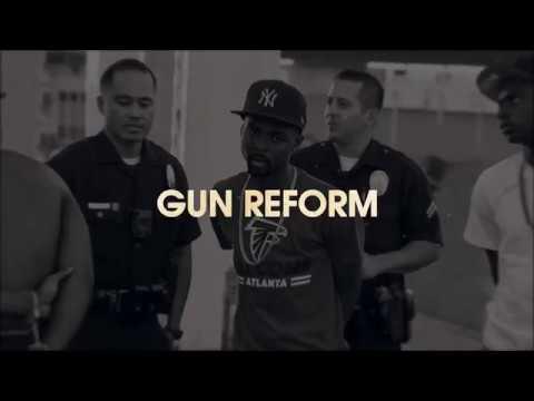 BLACK EYED PEAS TALK STREET LIVIN : GUN REFORM | Sway's Universe