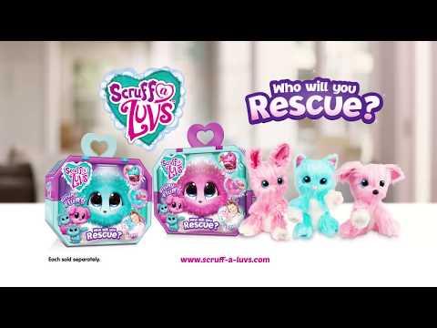 Scruff a Luvs - Rescue & reveal cuddly toy