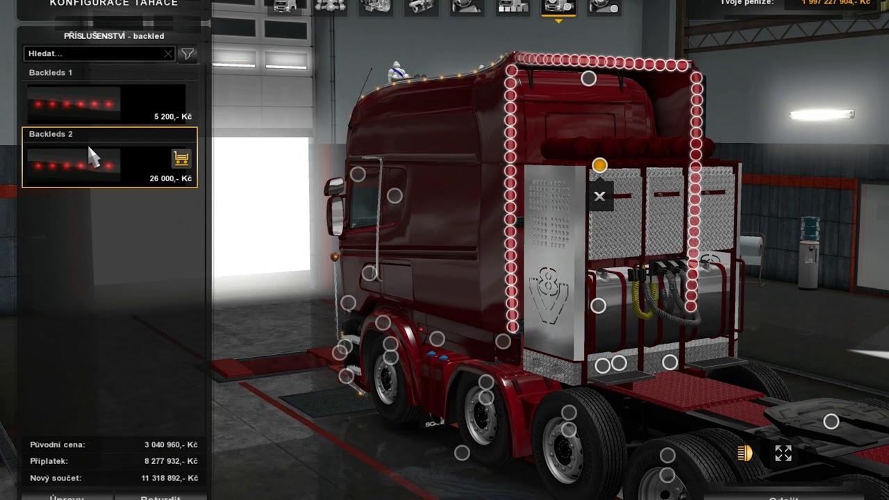 [ETS2]Euro Truck Simulator 2 Scania R RJL V2.2.2 (Update 1