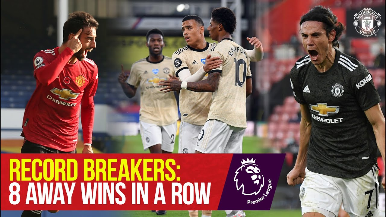 Download Record Breakers: 8 Premier League Away Wins in a Row | Manchester United