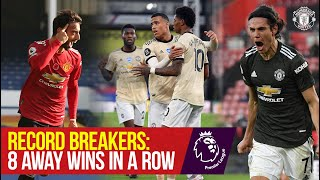 Record Breakers: 8 Premier League Away Wins in a Row   Manchester United
