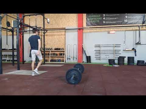 CrossFit training/ Кросфит тренировка