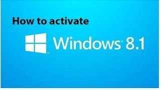 how to activate windows 8 1 all in one rtm version offline activator