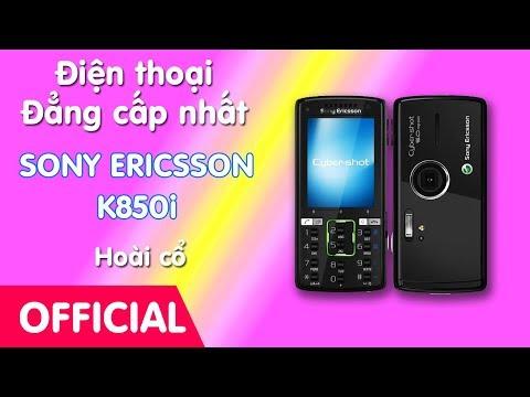 Điện thoại Sony Ericsson K850i chính hãng tồn kho - cách nhận biết chính hãng, nơi bán Sony K850i