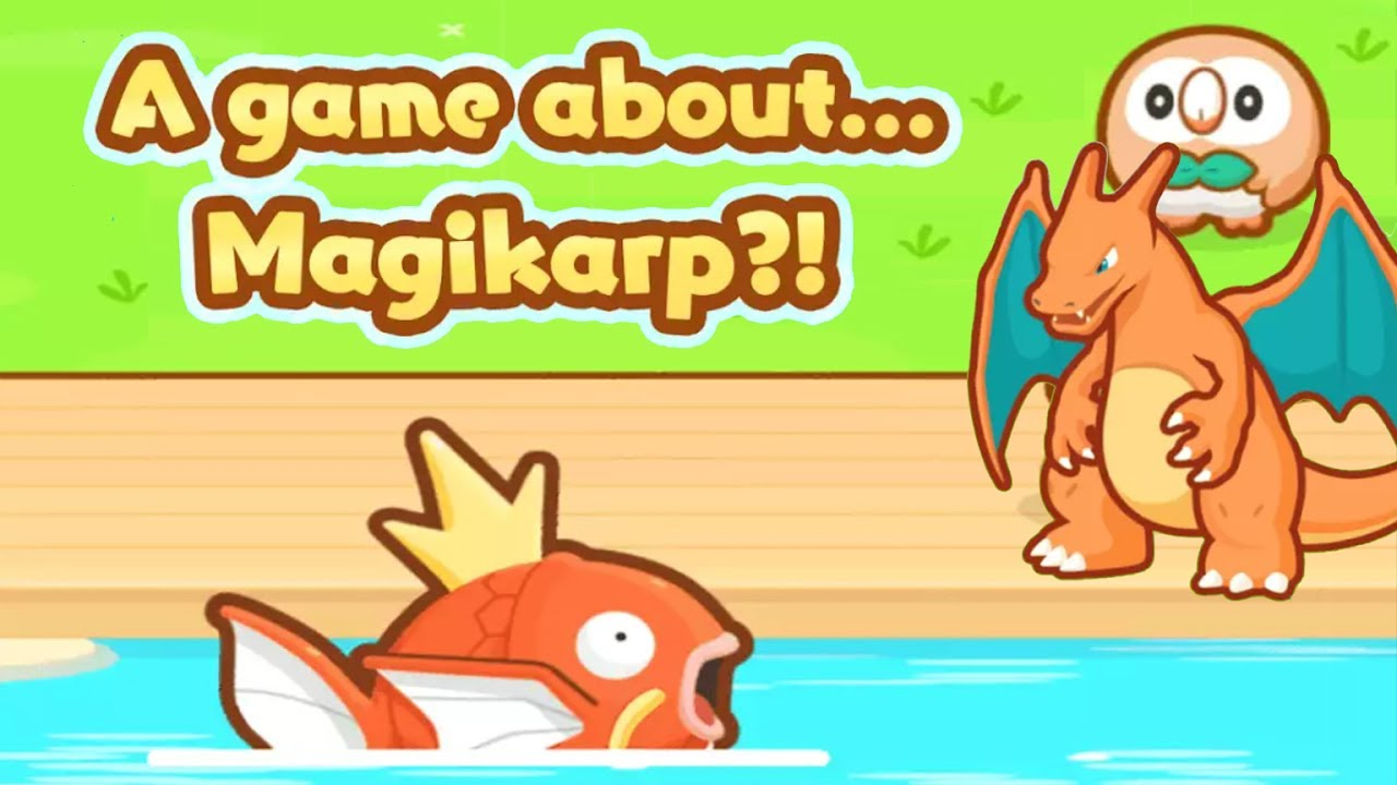 414a66ff A GAME ABOUT MAGIKARP?! Pokemon Magikarp Jump Tablet Gameplay Review! Let's  Play Magikarp Jump EP 1