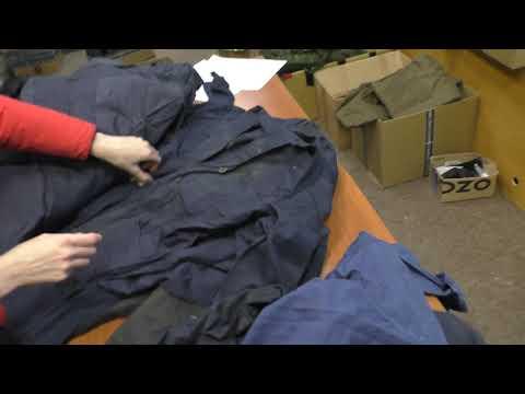 Рабочие халаты из Северной Кореи