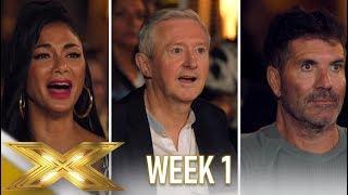 The X Factor 2019: Celebrity | Best Auditions WEEK 1 | Talent Recap UK