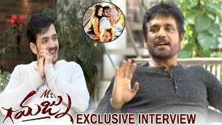 Akkineni Nagarjuna Akhil Akkineni Exclusive Interview || Mr Majnu Movie || Telugu Entertainment Tv