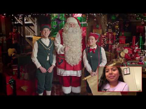 "Alex's Reaction To Personalized ""Santa Claus"" Video Message (PNP/Portable North Pole 2016)"