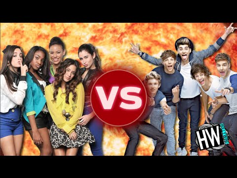 One Direction Vs. Fifth Harmony! (BATTLE OF THE BANDS)