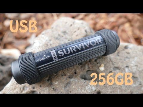 Corsair Survivor Stealth USB 256GB