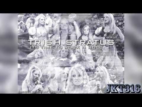 Trish Stratus Theme -''Time To Rock And Roll'' (HQ Arena Effects)