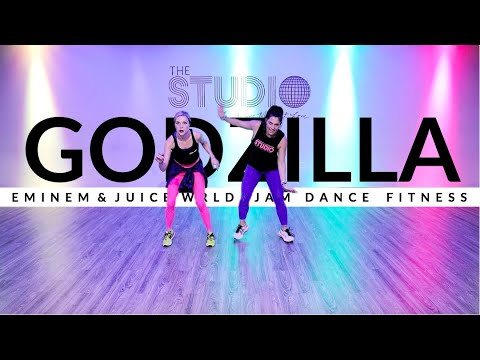 Godzilla by Eminem feat. Juice WRLD   JAM Dance Fitness   The Studio by Jamie Kinkeade
