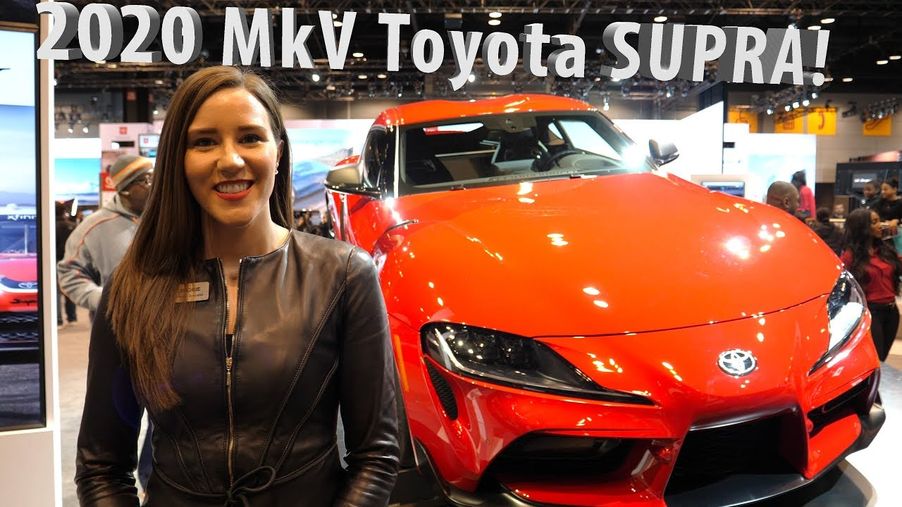 797ad493be NEW 2020 A90 MKV Toyota Supra Highlights Presentation at 2019 ...