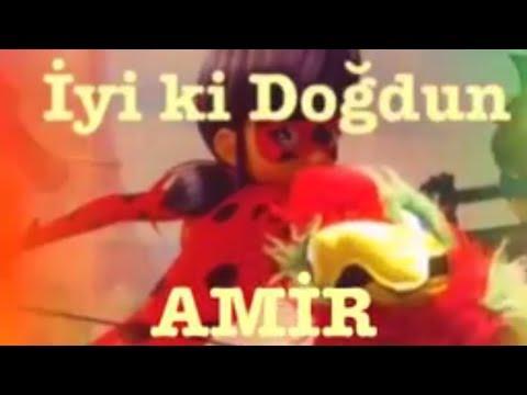 İyi ki Doğdun AMİR :) Komik Doğum günü Mesajı 1.VERSİYON, DOĞUMGÜNÜ VİDEOSU Made in Turkey :) 🎂