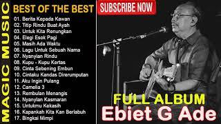 Gambar cover 20 Lagu Top Pilihan EBIET G ADE (FULL ALBUM 2020) ~ BERITA KEPADA KAWAN
