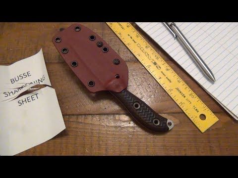 The Busse Knife Is Back From The Custom Shop (Customer Service Update)
