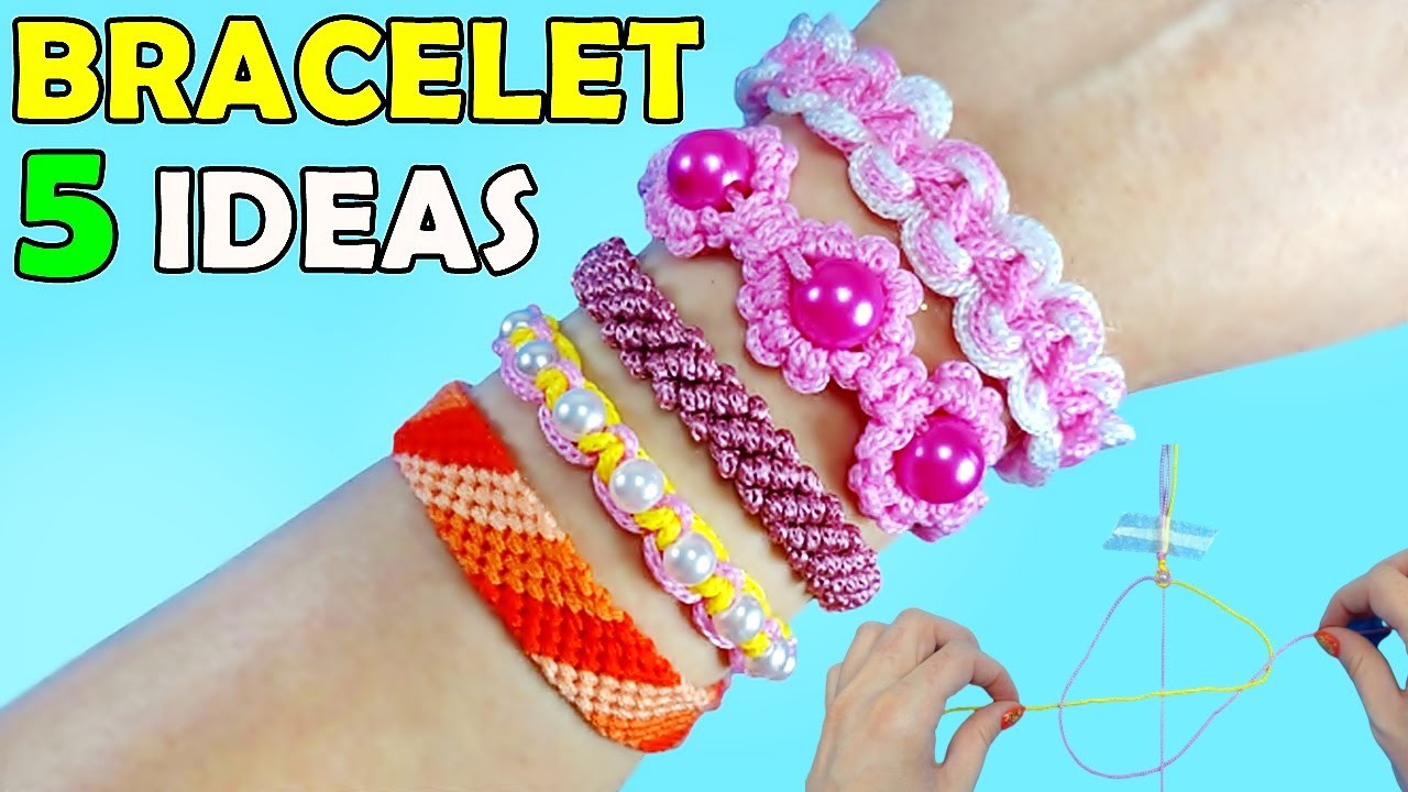 DIY: 5 EASY HANDMADE FRIENDSHIP BRACELETS