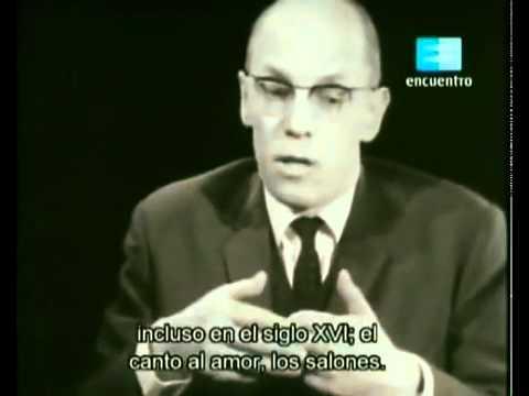 Badiou interviews Michel Foucault (1965) 1/3 English Subtitles