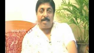 Interview with Sreenivasan - actor, director, script-writer.