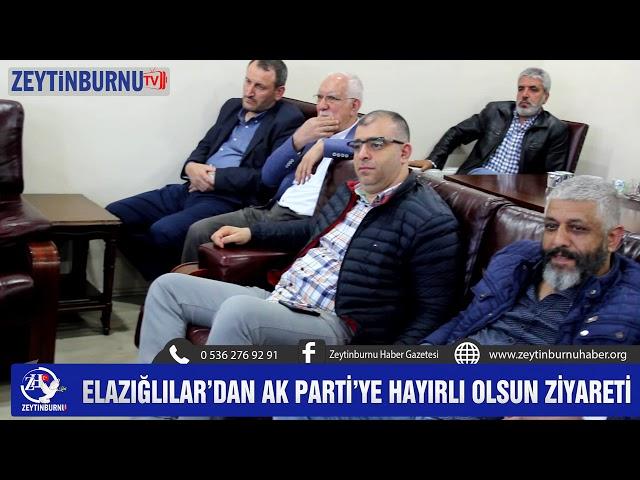 Elazığlılar AK Parti'ye çıkarma yaptı