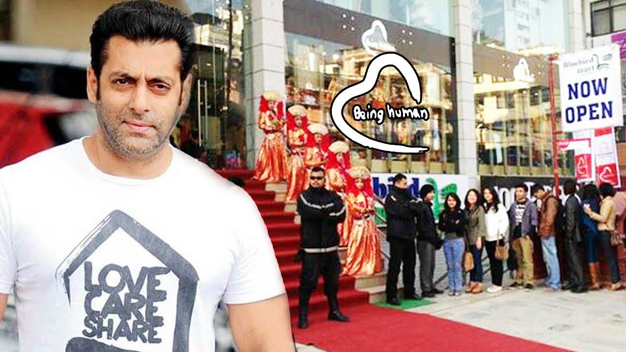 Salman Khans BEING HUMAN Store Opens In NEPAL