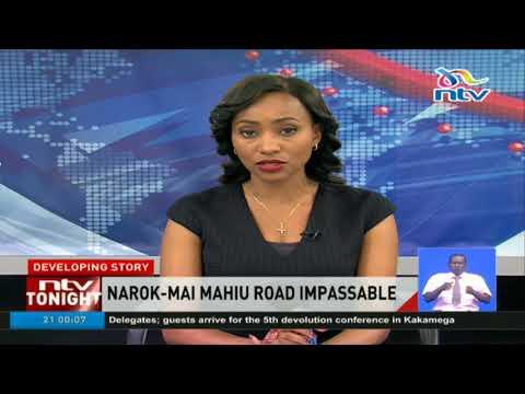 Flood waters have cut off Narok-Nairobi highway again