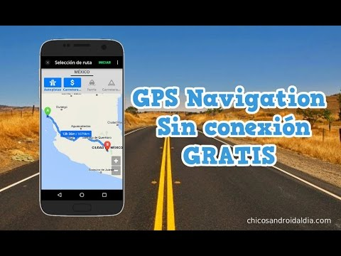 gps gratis sin internet para iphone