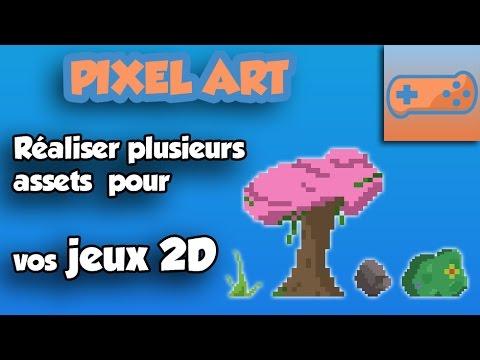 Tuto - Dessiner des Assets en Pixel Art pour vos Jeux 2D