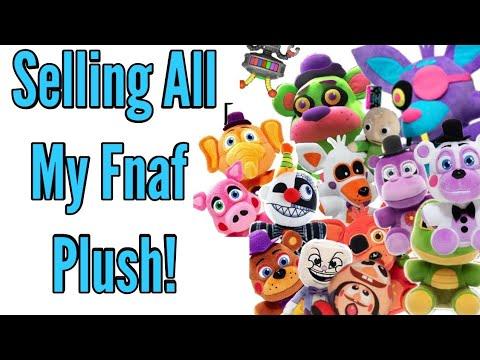 SELLING ALL MY FNAF PLUSH!•Pandog76
