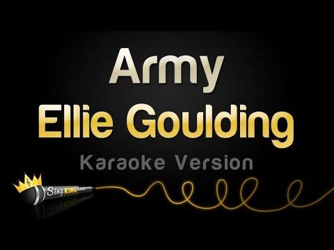 Ellie Goulding - Army (Karaoke Version)