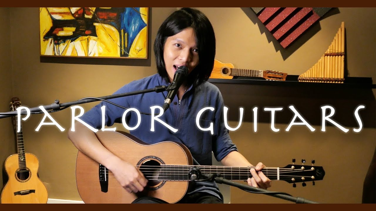 What is a Parlor Guitar? - All About Guitars! (Dowina Granadillo)
