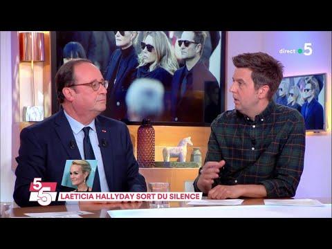 Le 5 sur 5 avec François Hollande - C à Vous - 12/04/2018