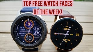 TOP FREE Must See & Must Download Samsung Galaxy Watch Active 2/Galaxy Watch/Gear S3 Watch Faces!