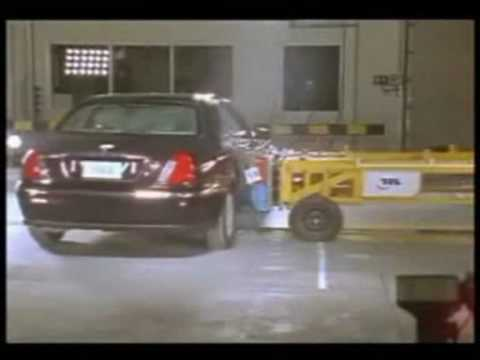 Rover 75 crash test