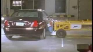 Rover 75 crash test