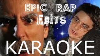 Einstein vs Stephen Hawking -Epic Rap Battles of History #7 [KARAOKE]