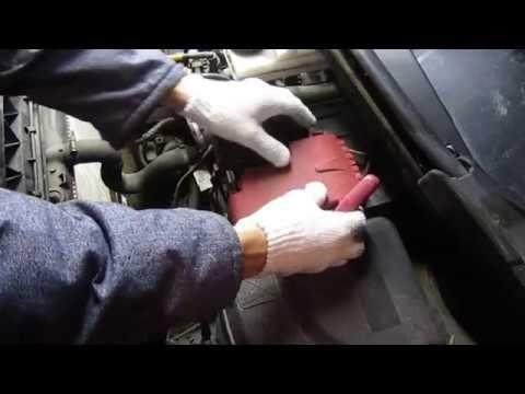 """как снять аккумулятор у """"ситроен берлинго"""" (пежо типпи) 2012 г. двигатель 120 л.с"""