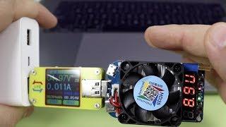 САМЫЙ МОЩНЫЙ USB ТЕСТЕР и НАГРУЗКА ► RD UM34C и HD35