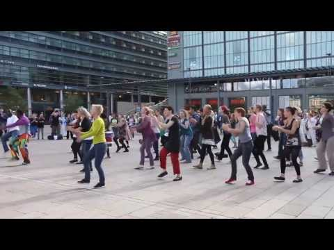 African Dance Flash Mob