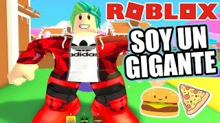 Eat or Die in Roblox A Giant in Roblox Roblox Karim Games Play