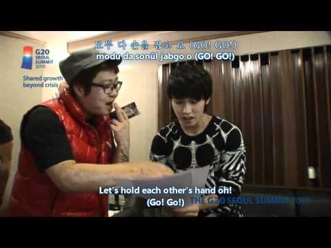 G20 Seoul Summit - Let's Go! [Hangul + Romanization + Eng Sub] MV