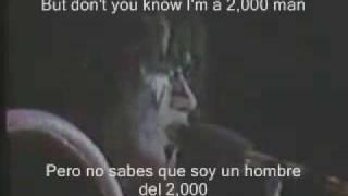 Kiss 2000 A Man (subtitulado al ingles y español)