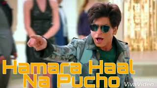 Hamara Haal Na Pucho | FULL SONG | Zero Movie Song | Shahrukh Khan | Anushka Sharma |